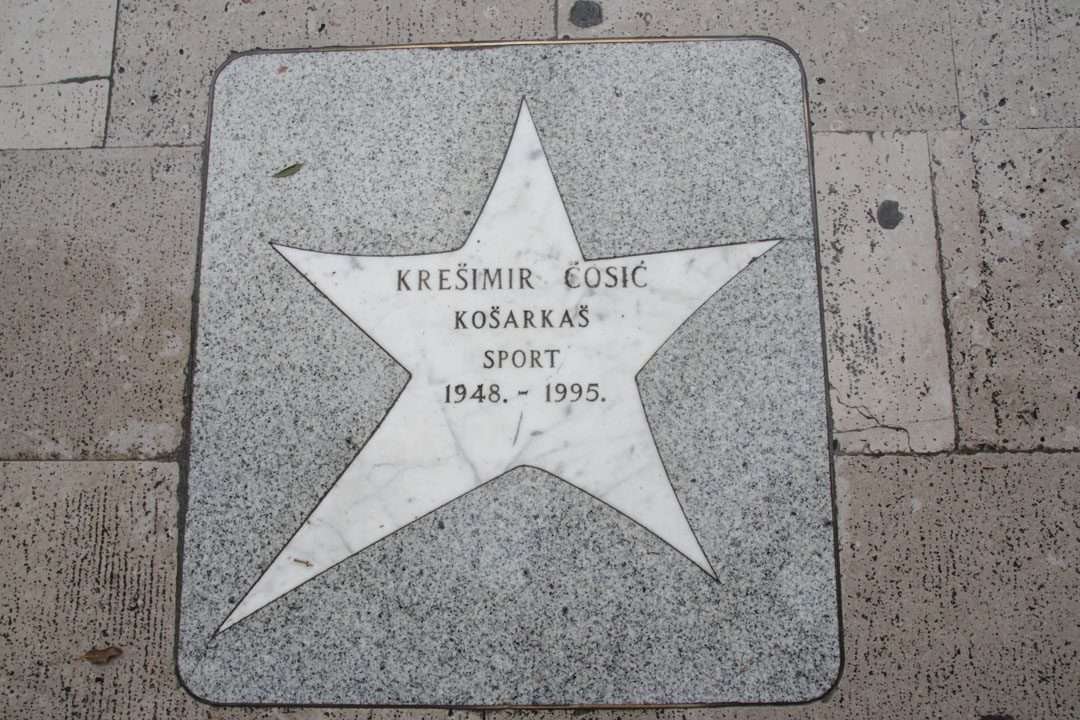 Walk of fame Croate