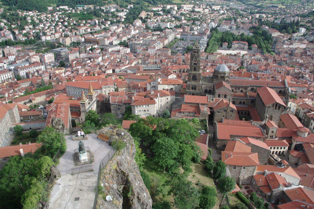 panorama depuis la statue de Notre Dame de France