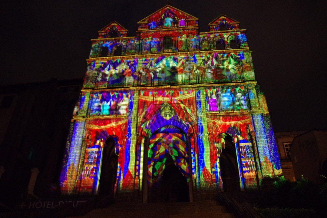 Le Puy de Lumière - Cathédrale du Puy en Velay