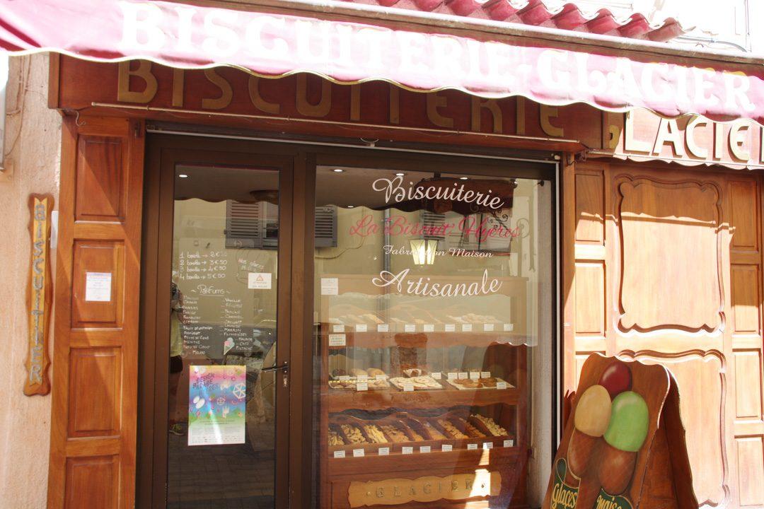 boutique de biscuits artisanaux à Hyères