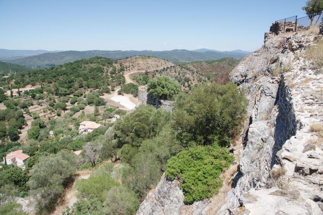 Panorama depuis les vestiges du chateau de Hyères les Palmiers