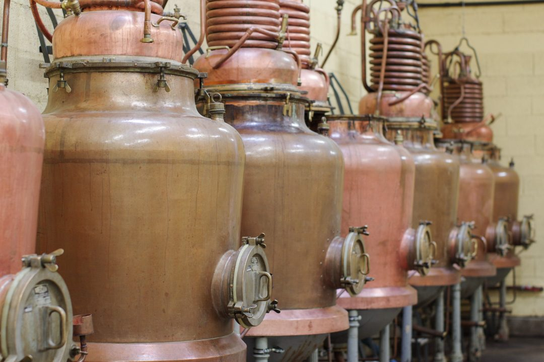 Alambics de la distillerie de verveine Pages