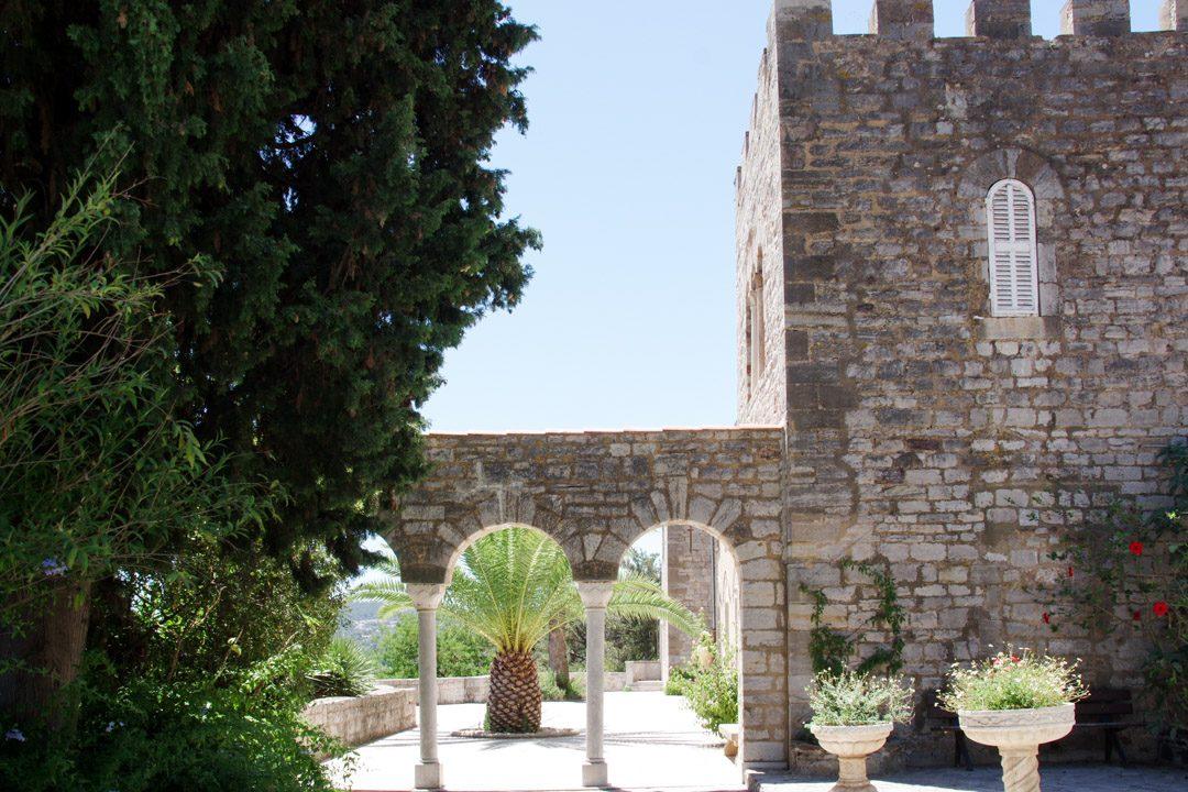 Château du Castel Sainte Claire à Hyères les Palmiers