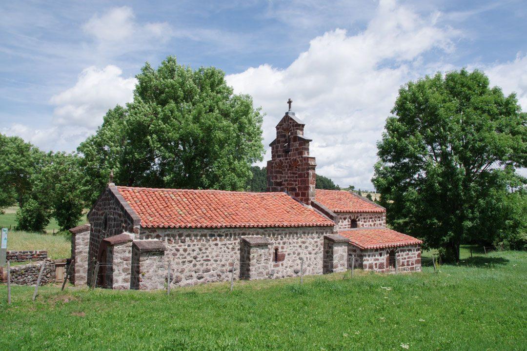 La Chapelle de Montbonnet sur le chemin de Compostelle