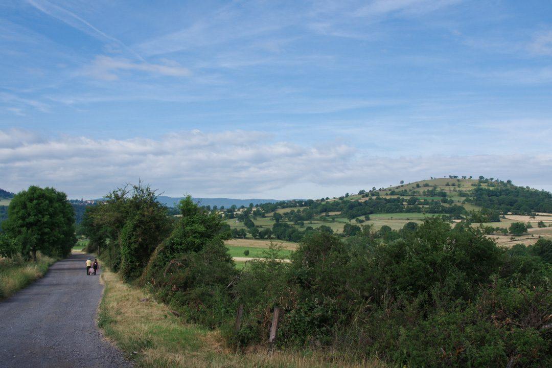 Chemin de Compostelle - Etape 1