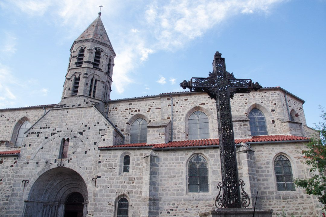 Eglise romane de Saugues