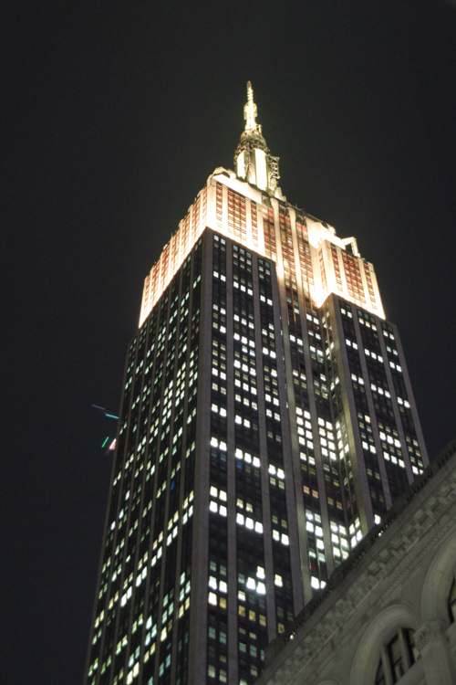 Empire State Building la nuit