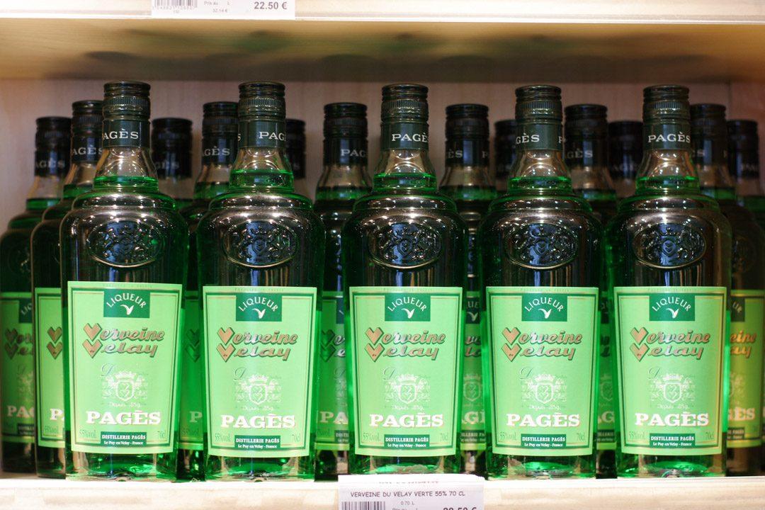 liqueur de Verveine du puy en velay