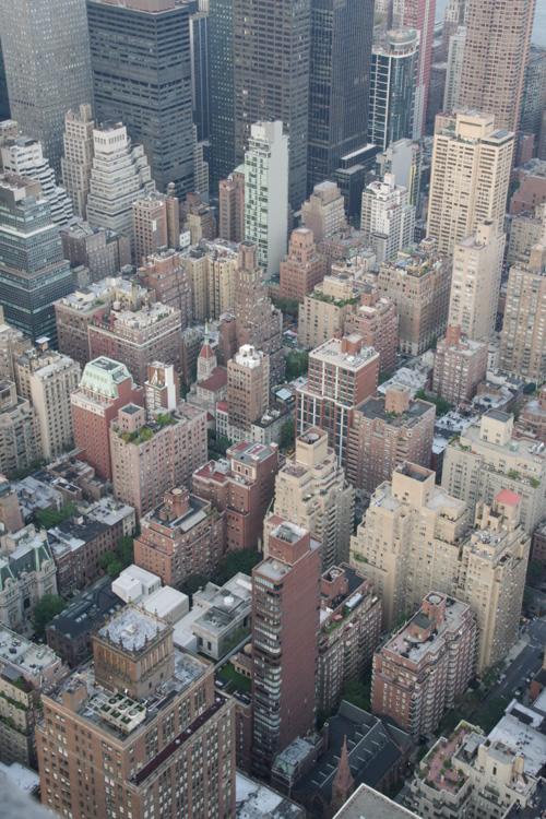 Manhattan vue de haut