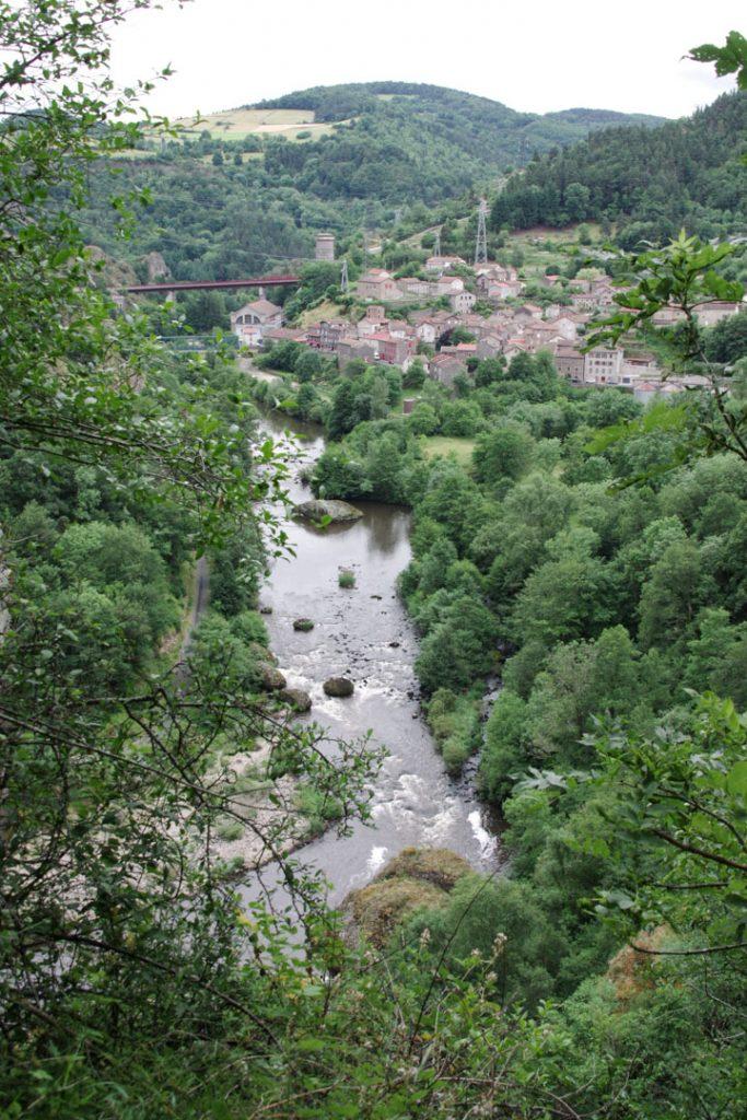 Vue sur Monistrol d'Allier