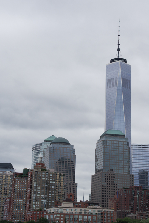 vue sur la tour One World Trade Center