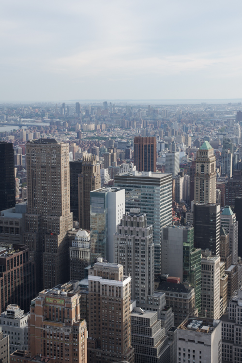Panorama sur New York depuis Top of the Rock