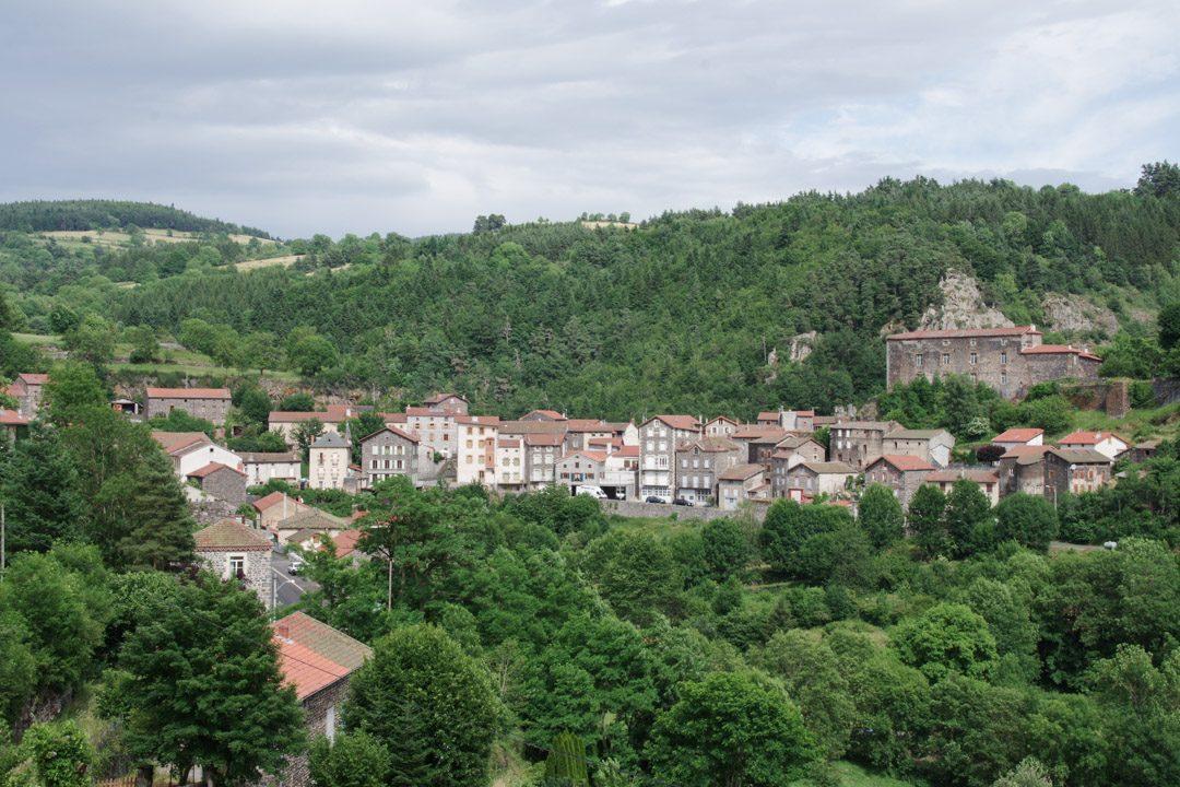 Saint Privat d'Allier en Haute Loire