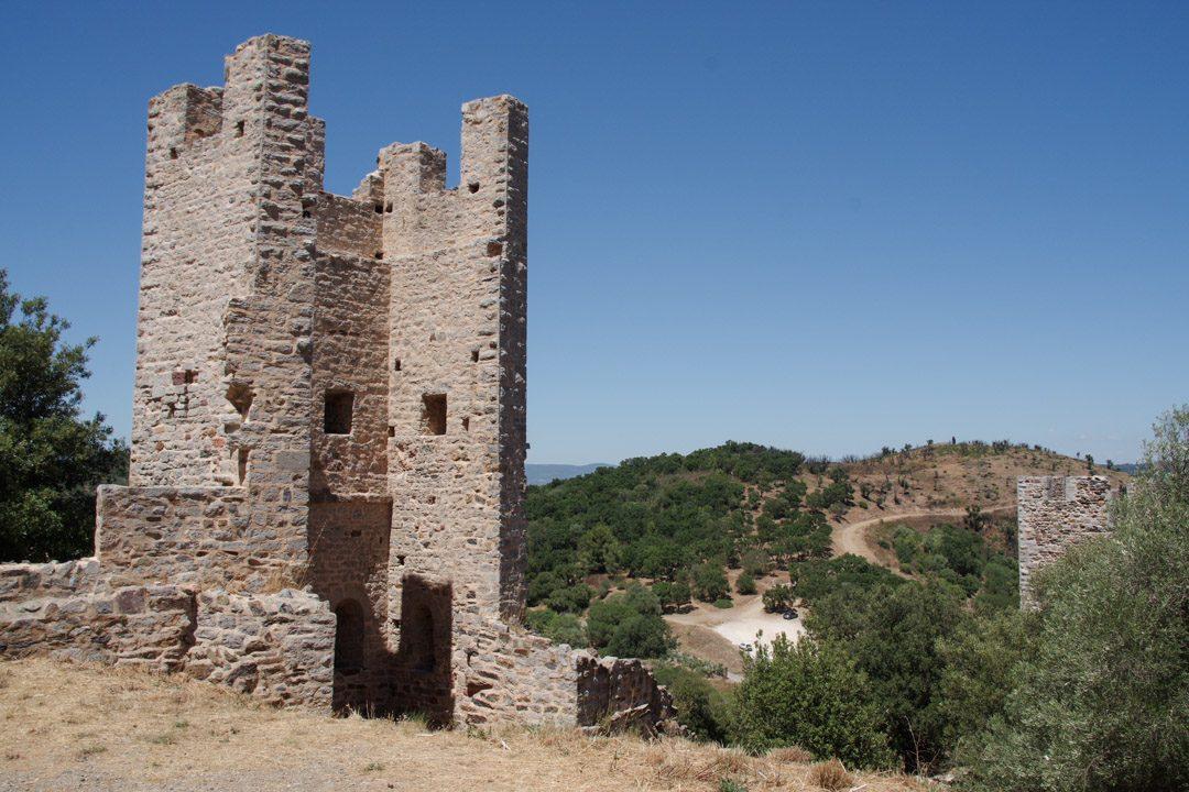 Vestige du chateau médiéval de Hyères