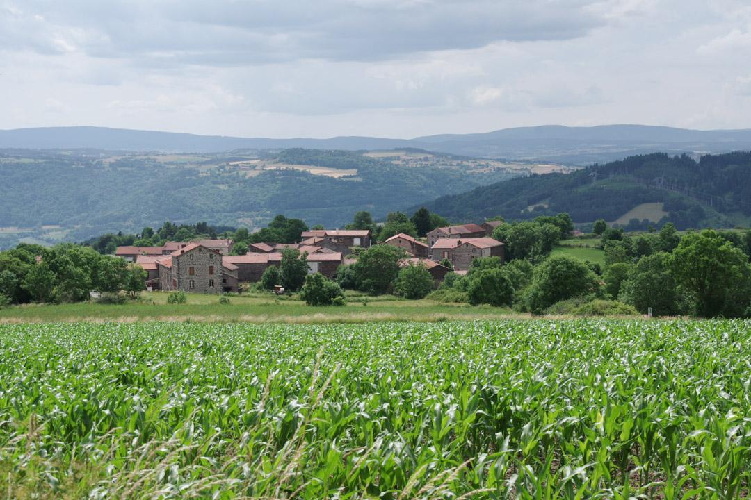 Saint Jacques de Compostelle : du Puy en Velay à St Privat d'Allier