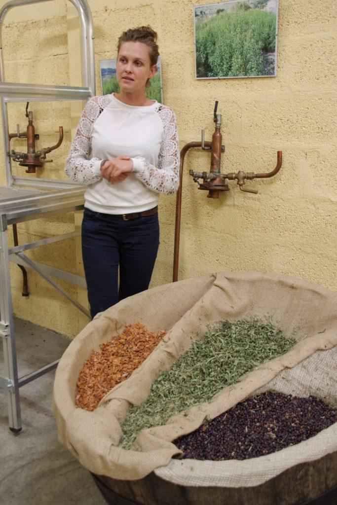 visite guidée de la distillerie de verveine