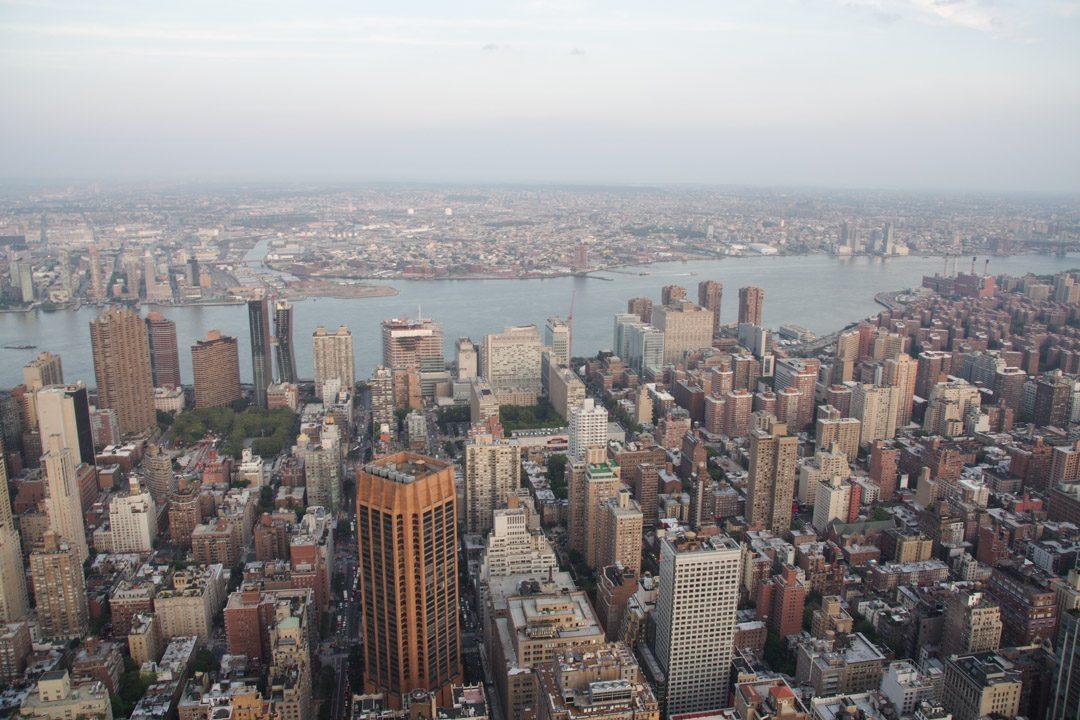 vue sur Brooklyn depuis l'Empire State Building