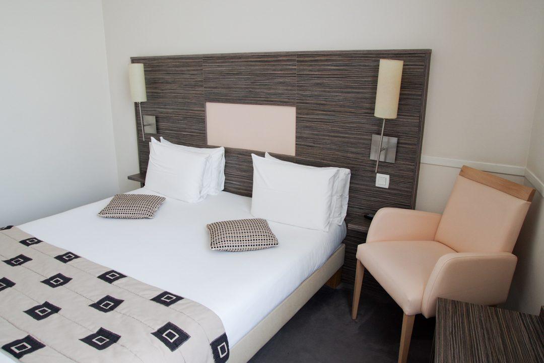 Ma chambre à l'hôtel Continentall à Angers