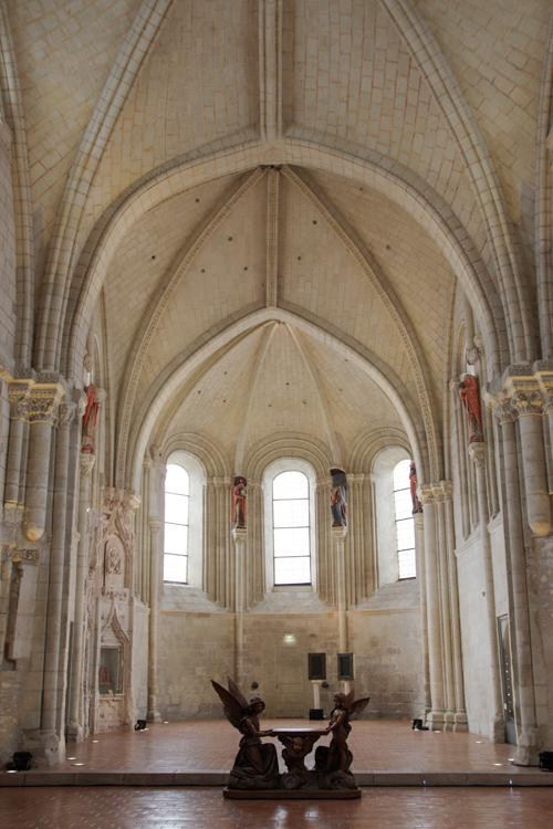 coeur gothique de la collégiale Saint Martin