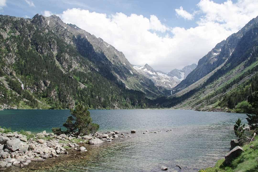 le lac de Gaube - Pont d'Espagne - Hautes Pyrénées