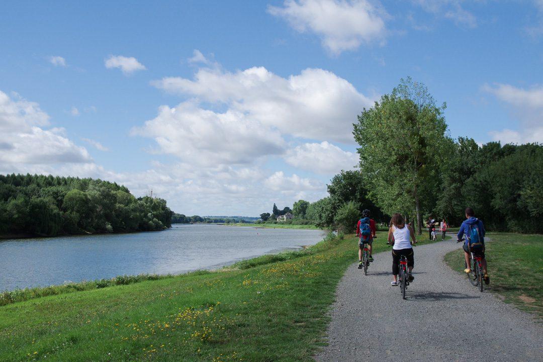 La Loire à Vélo près d'Angers