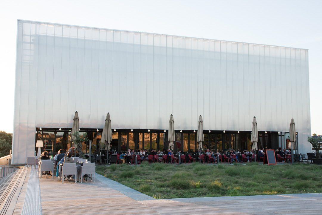 restaurant la réserve sur le toit du théatre le Quai à Angers