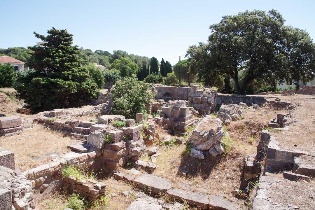 Les ruines de l'abbaye cistercienne de Saint-Pierre d'Almanarre