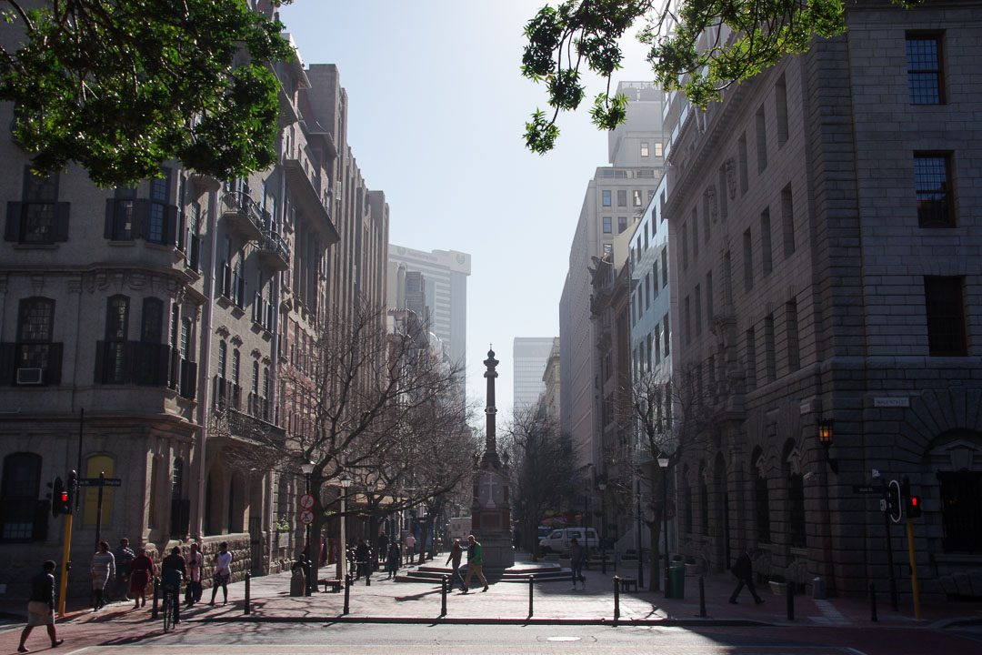 Centre ville de Cape Town