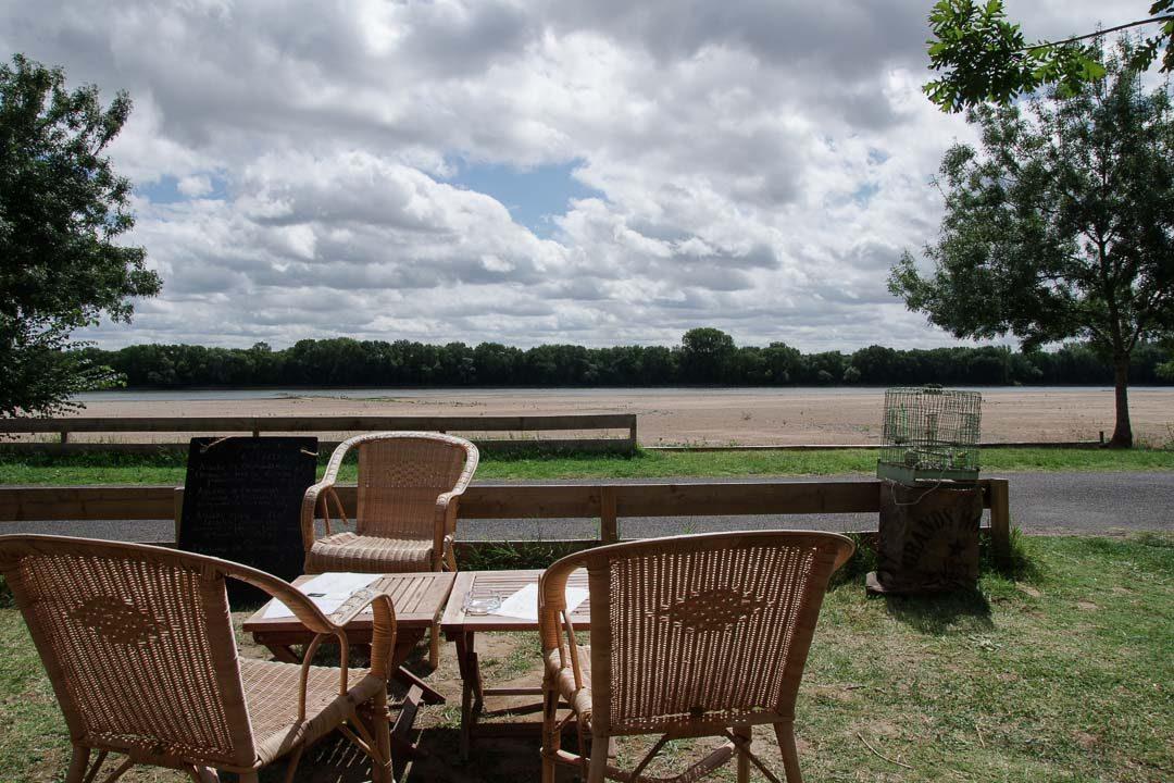déjeuner avec vue sur la Loire - la Croisette - Béhuard