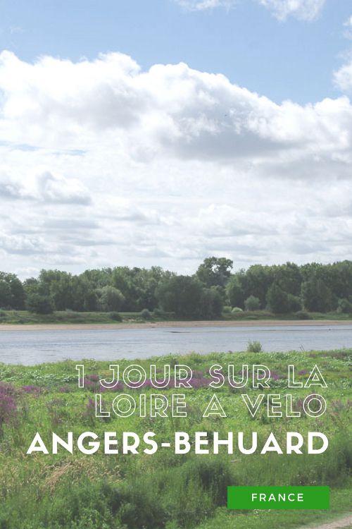 Une journée sur la Loire à Vélo entre Angers et Béhuard
