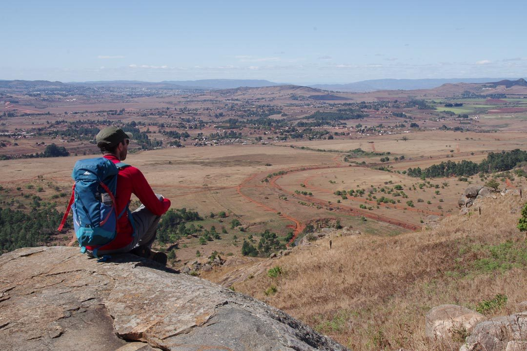 randonnée dans la Millwane Nature Reserve au Swaziland