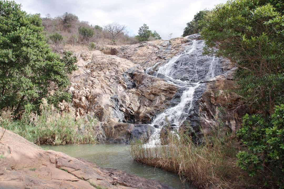 cascade de phophonyane au Swaziland
