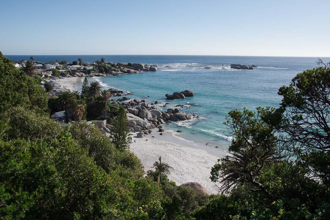 Panorama sur les plages de Clifton Bay