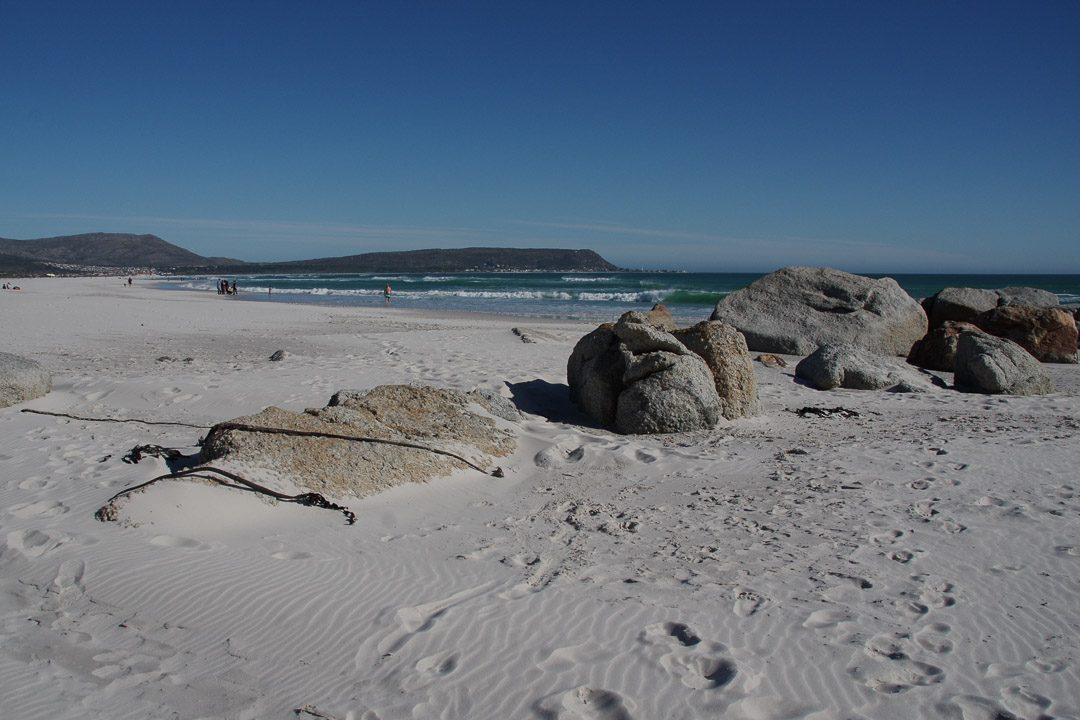 balade sur la plage de Noordhoek