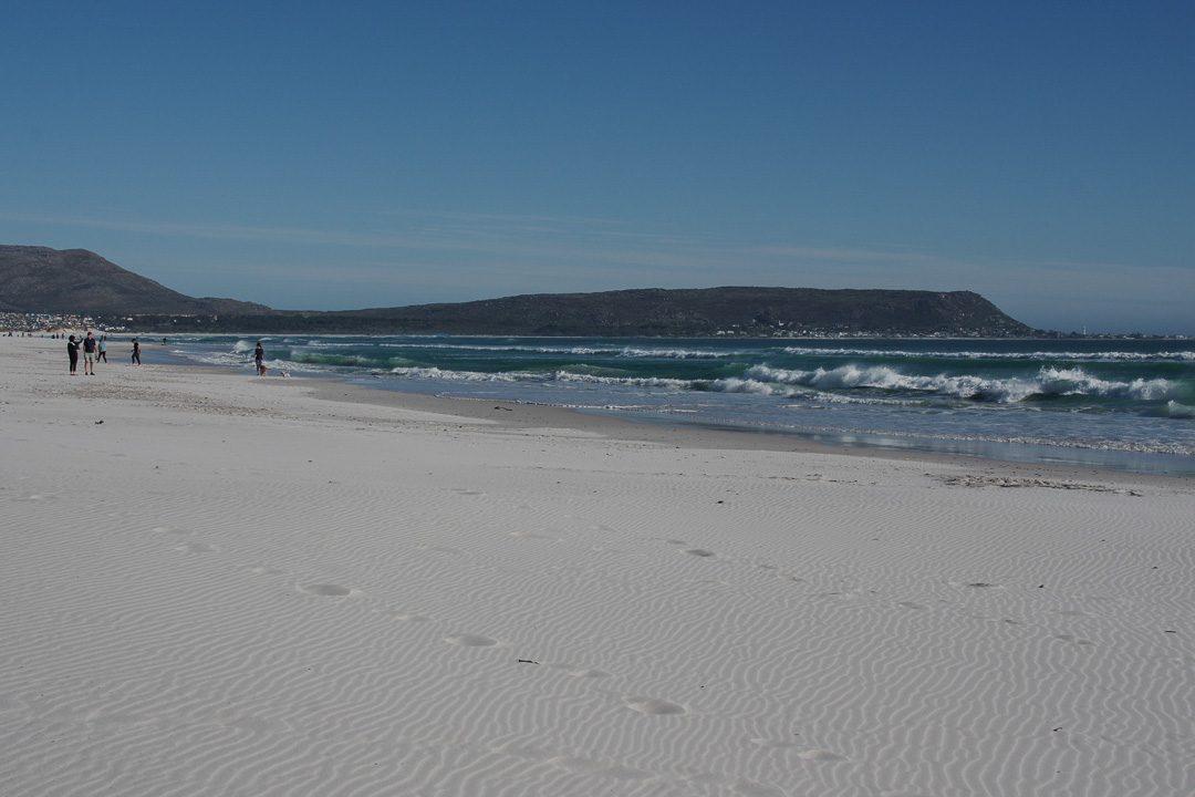 la plage sauvage de Noordhoek