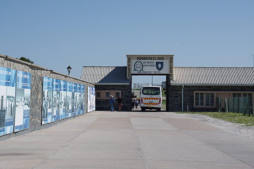 entrée de la prison Robben Island