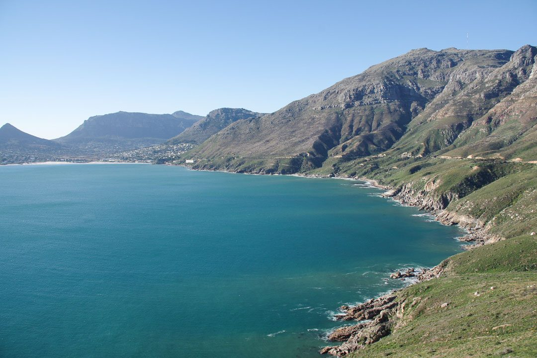 La route panoramique de Chapman's Peak