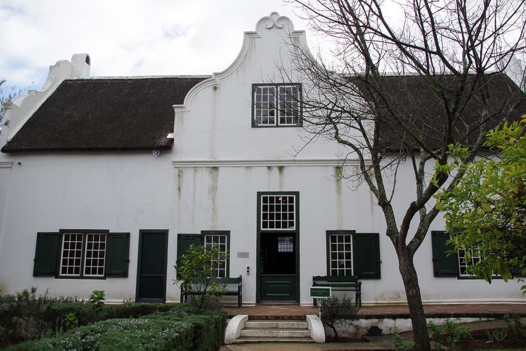 maison de style Cape Dutch à Stellenbosch