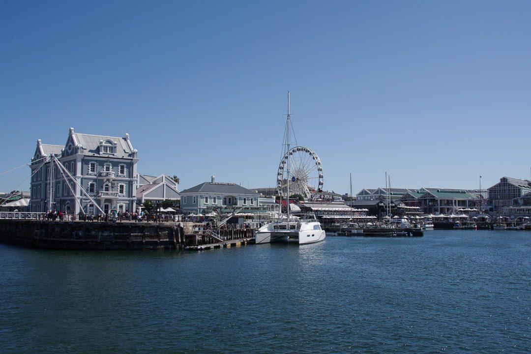 Le Waterfront, un quartier touristique de Cape Town