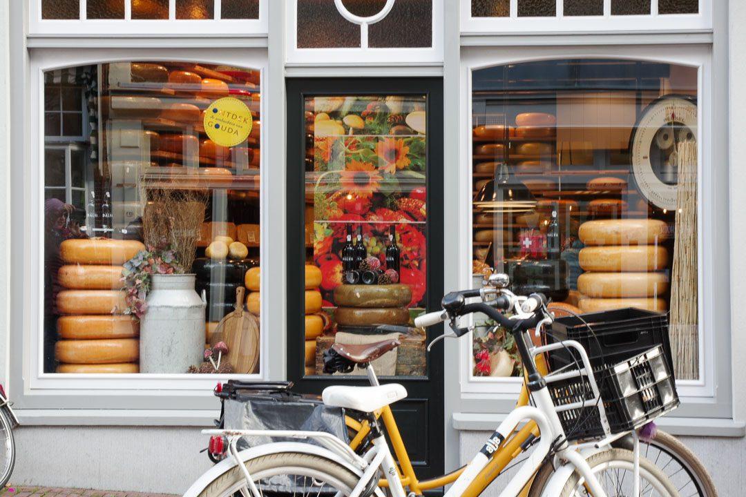 boutique de fromage fermier de Gouda