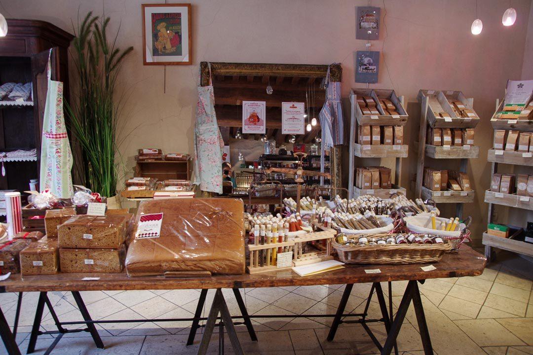 Boutique de Pains d'Epices dans le centre de Dijon