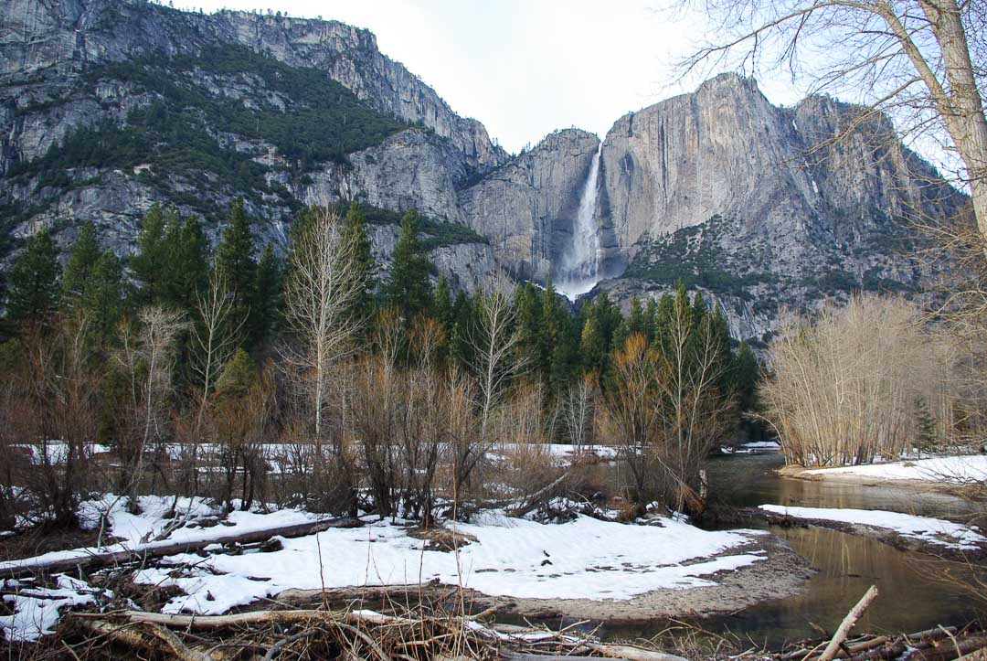 Paysage de la vallée glaciaire de Yosemite National Park