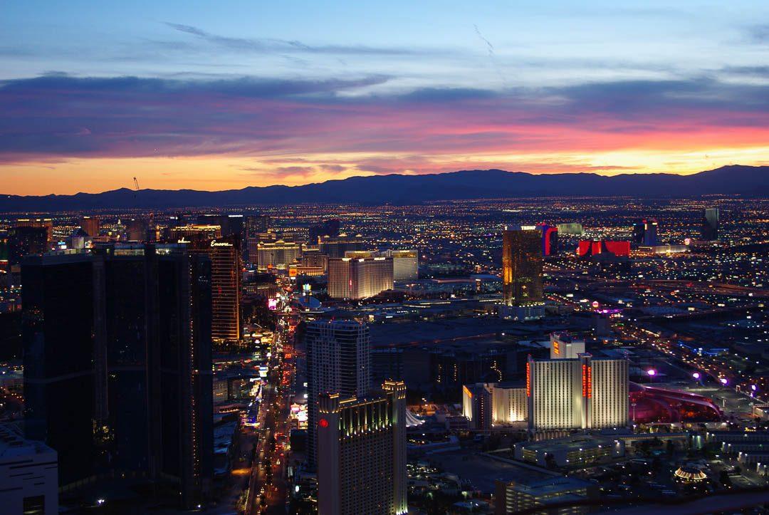 Vue sur Las Vegas depuis la Stratosphère