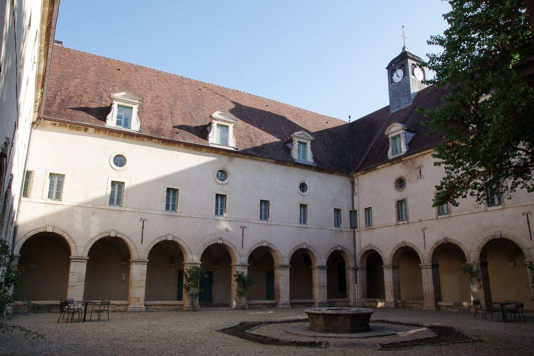 Cloitre du couvent des Bernardines - Dijon