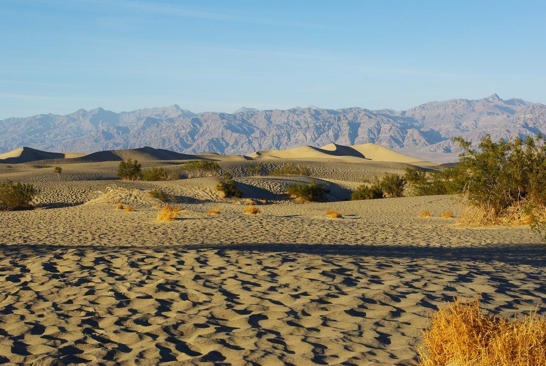 Dunes de Sables de la vallée de la mort