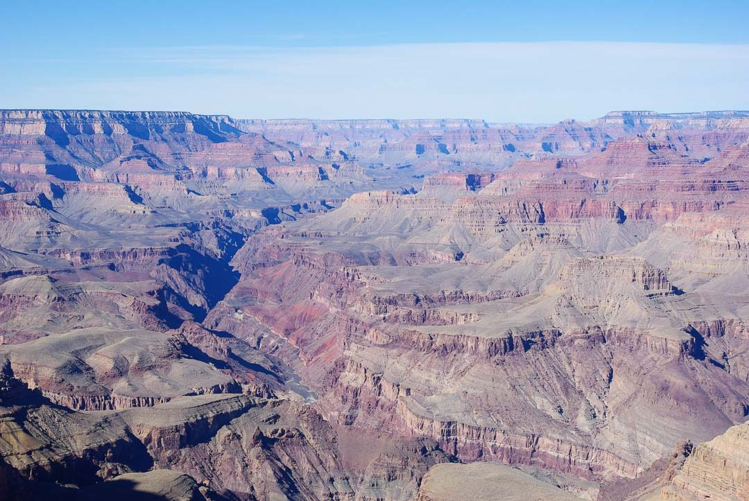 Panorama sur le Grand Canyon