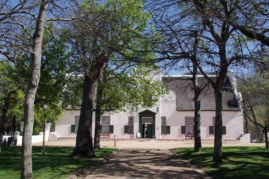 le domaine viticole de Groot Constantia à Cape Town