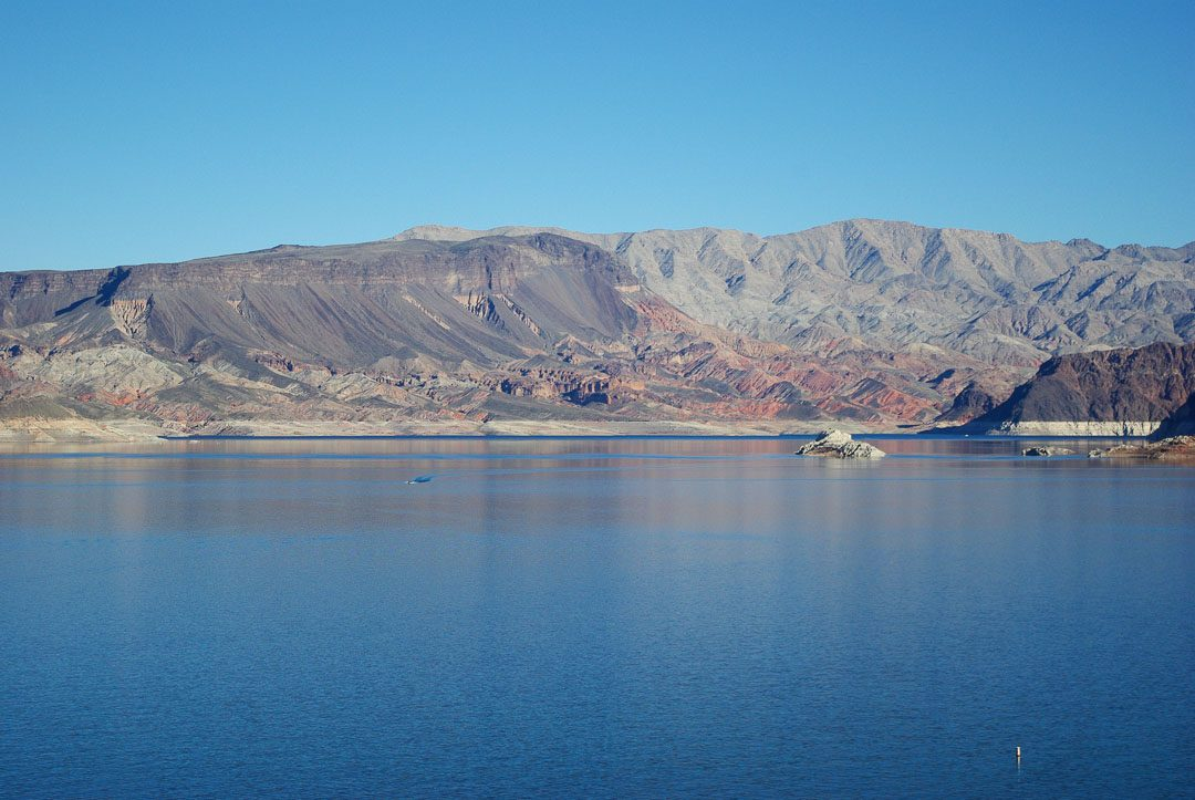 Lake Mead près de Las Vegas - Nevada
