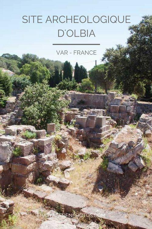 Visite et histoire du site archéologique d'Olbia à Hyères les Palmiers dans le Var
