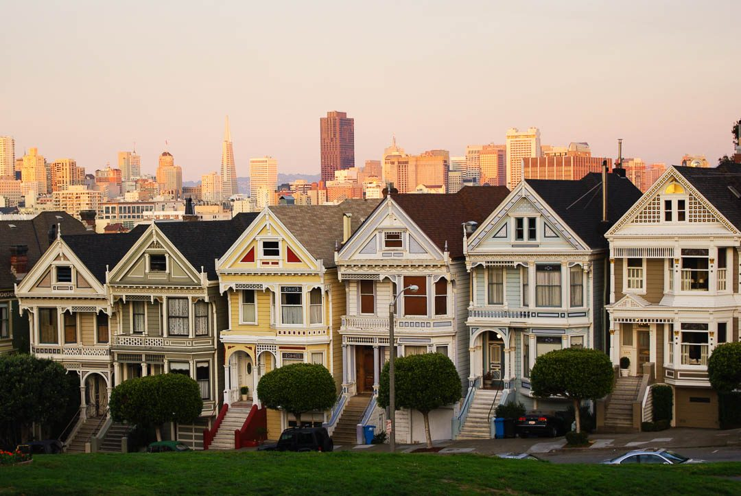 les painted ladies, maisons victoriennes de San Francisco